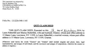 huberfeld-quit-claim-deed