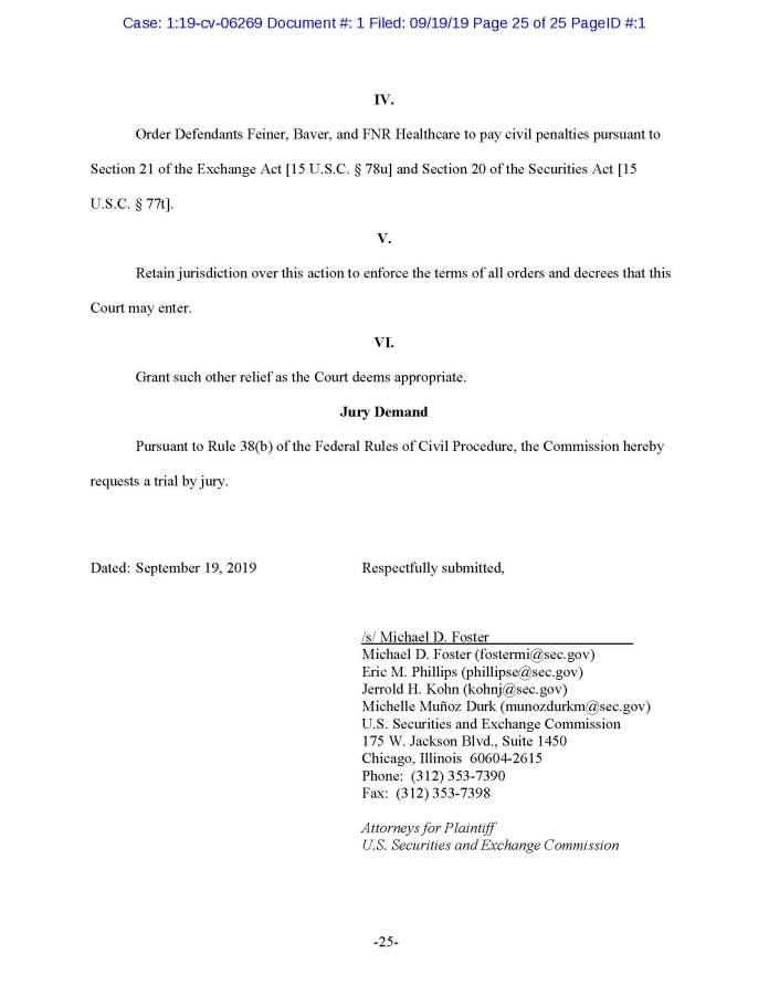 Feiner, SEC Complaint_Page_25